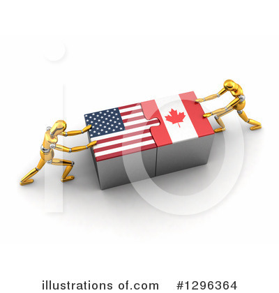 American Flag Clipart #1296364 by stockillustrations