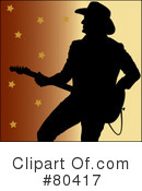 Royalty-Free (RF) Country Music Clipart Illustration #80417