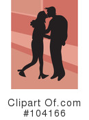 Royalty-Free (RF) couple Clipart Illustration #104166