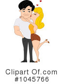 Royalty-Free (RF) couple Clipart Illustration #1045766