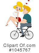 Royalty-Free (RF) couple Clipart Illustration #1045767