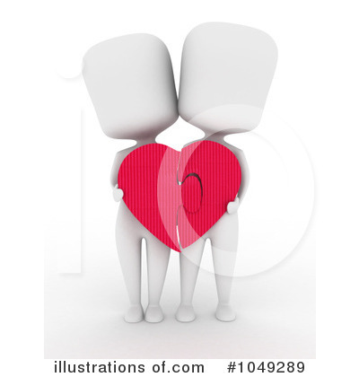 Royalty-Free (RF) Couple Clipart Illustration by BNP Design Studio - Stock Sample #1049289