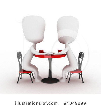 Royalty-Free (RF) Couple Clipart Illustration by BNP Design Studio - Stock Sample #1049299