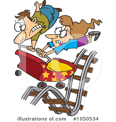 Royalty-Free (RF) Couple Clipart Illustration by toonaday - Stock Sample #1050534