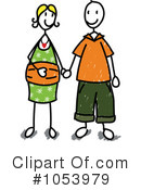 Couple Clipart #1053979 by Frog974
