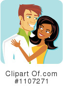 Royalty-Free (RF) Couple Clipart Illustration #1107271