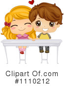 Royalty-Free (RF) Couple Clipart Illustration #1110212