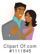 Royalty-Free (RF) Couple Clipart Illustration #1111845