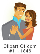 Royalty-Free (RF) Couple Clipart Illustration #1111846