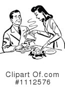 Royalty-Free (RF) Couple Clipart Illustration #1112576