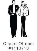 Royalty-Free (RF) Couple Clipart Illustration #1113713