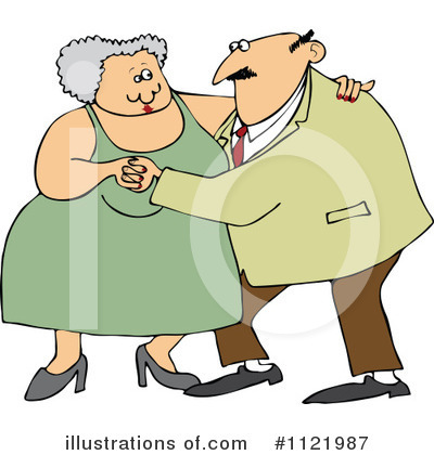 Old Couple Clipart #1121987 by djart