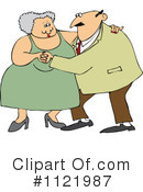 Royalty-Free (RF) couple Clipart Illustration #1121987