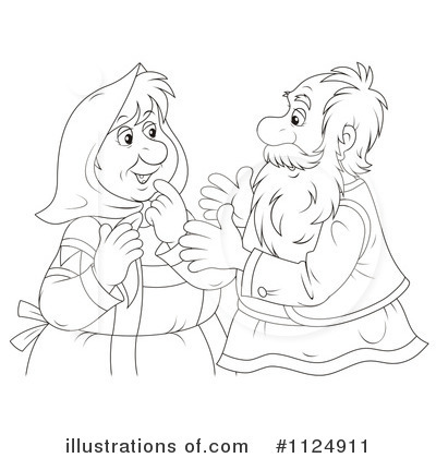 Couple Clipart #1124911 by Alex Bannykh