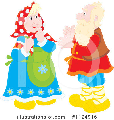 Old Couple Clipart #1124916 by Alex Bannykh