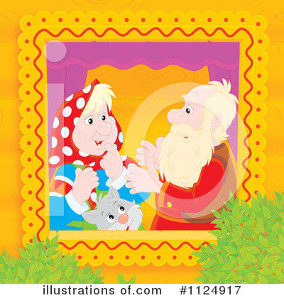Royalty-Free (RF) Couple Clipart Illustration by Alex Bannykh - Stock Sample #1124917