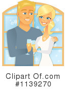 Royalty-Free (RF) Couple Clipart Illustration #1139270