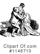 Royalty-Free (RF) couple Clipart Illustration #1146710