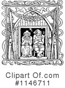 Royalty-Free (RF) Couple Clipart Illustration #1146711