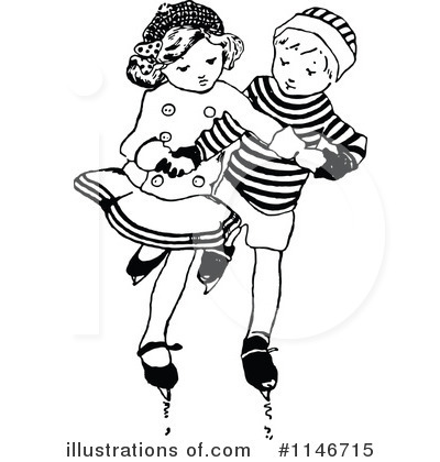 Couple Clipart #1146715 by Prawny Vintage
