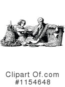 Royalty-Free (RF) Couple Clipart Illustration #1154648