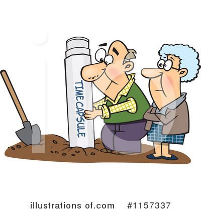 Old Couple Clipart #1157337 by toonaday