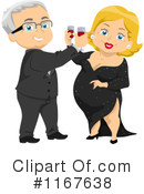 Royalty-Free (RF) couple Clipart Illustration #1167638