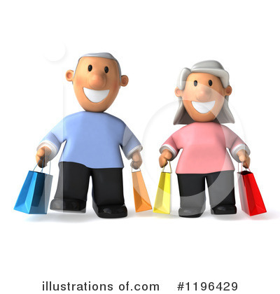 Senior Couple Clipart #1196429 by Julos