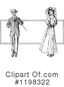 Couple Clipart #1198322 by Prawny Vintage