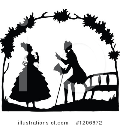 Couple Clipart #1206672 by Prawny Vintage