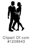 Couple Clipart #1208643 by AtStockIllustration
