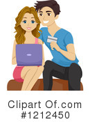 Couple Clipart #1212450 by BNP Design Studio
