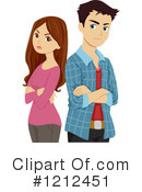 Couple Clipart #1212451 by BNP Design Studio