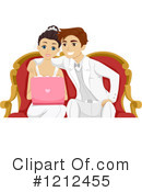 Couple Clipart #1212455 by BNP Design Studio