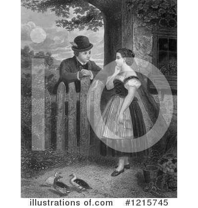Courting Clipart #1215745 by Picsburg