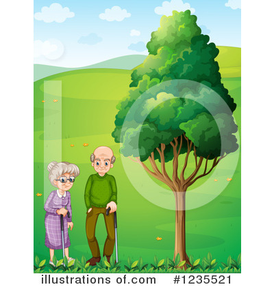 Old Couple Clipart #1235521 by Graphics RF