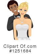 Royalty-Free (RF) Couple Clipart Illustration #1251684