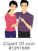 Couple Clipart #1251686 by BNP Design Studio