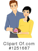 Couple Clipart #1251687 by BNP Design Studio