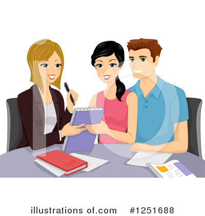 Royalty-Free (RF) Couple Clipart Illustration by BNP Design Studio - Stock Sample #1251688
