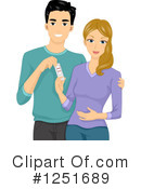 Couple Clipart #1251689 by BNP Design Studio