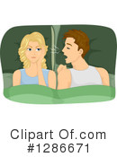 Royalty-Free (RF) Couple Clipart Illustration #1286671