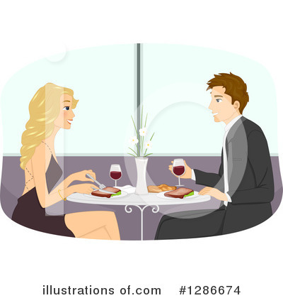 Dining Clipart #1286674 by BNP Design Studio