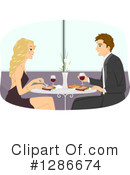 Couple Clipart #1286674 by BNP Design Studio