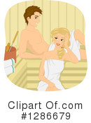 Couple Clipart #1286679 by BNP Design Studio