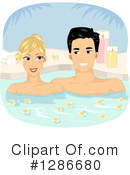 Couple Clipart #1286680 by BNP Design Studio