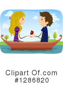 Couple Clipart #1286820 by BNP Design Studio