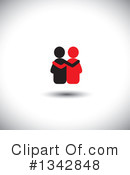 Couple Clipart #1342848 by ColorMagic
