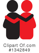 Couple Clipart #1342849 by ColorMagic
