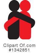 Couple Clipart #1342851 by ColorMagic